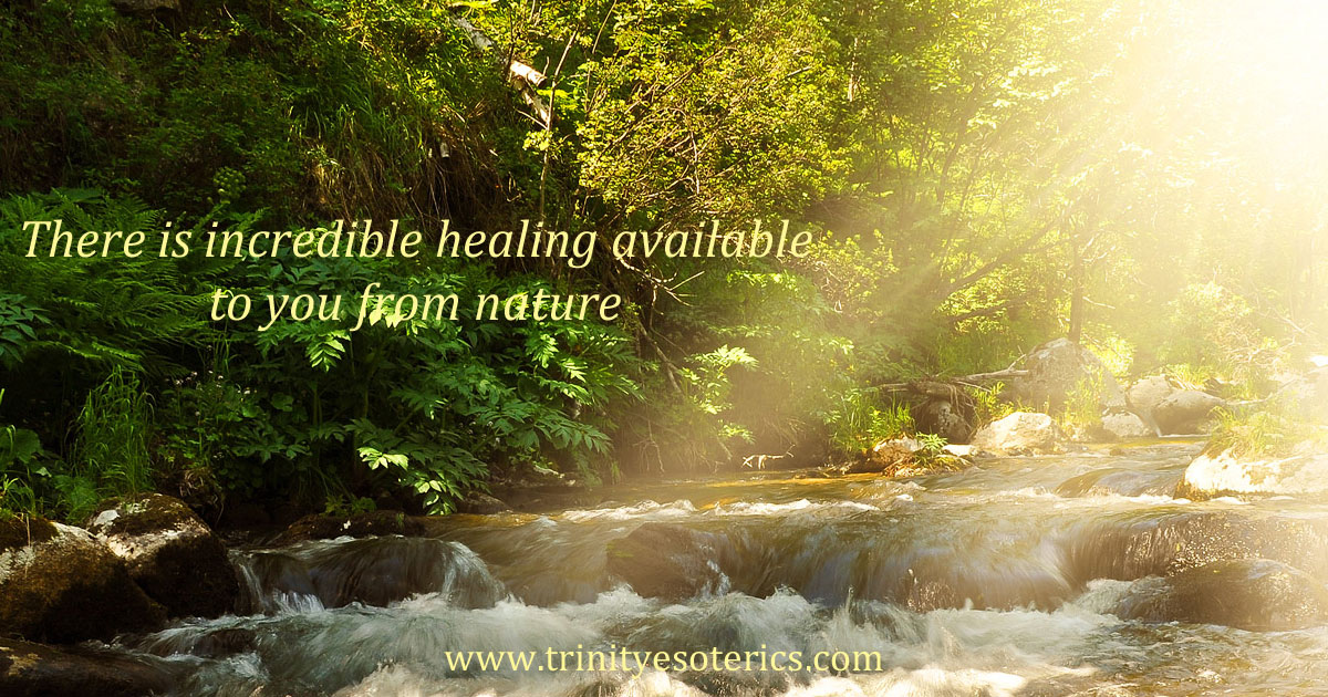thereisincrediblehealingavailabletoyoufromnature