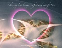 choose love heart light shine trinity esoterics