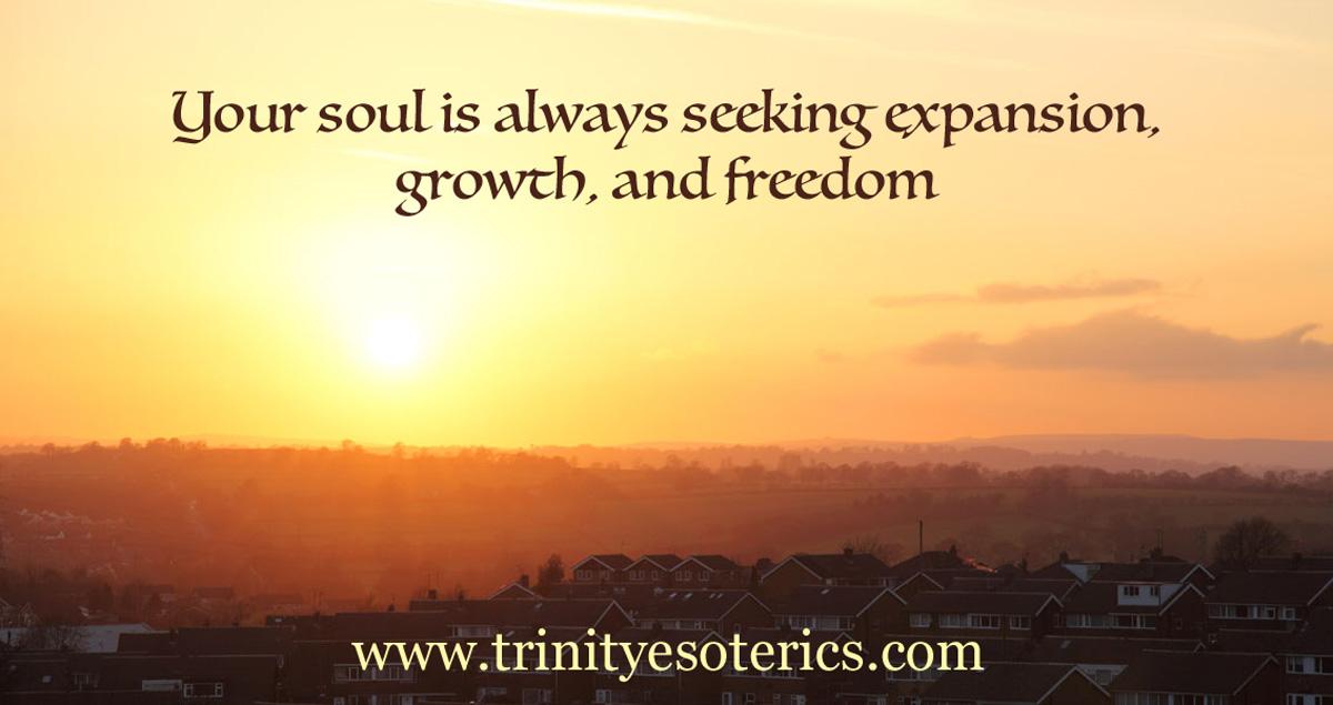Trinity Esoterics sun on horizon