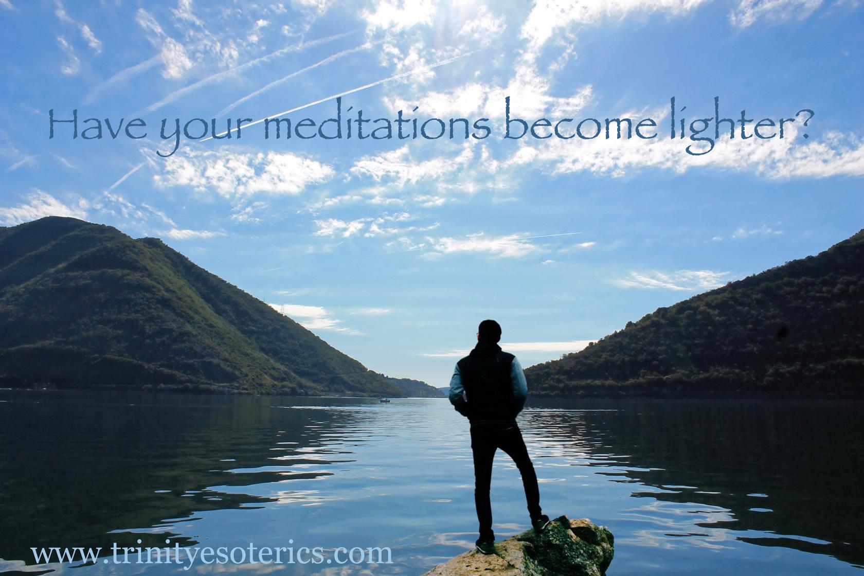 waking meditation trinity esoterics