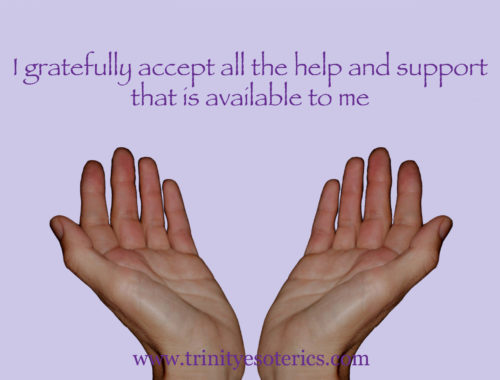 open receiving hands trinity esoterics