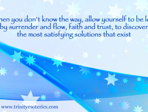 blue ribbon stars trinity esoterics