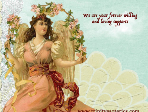 victorian angel trinity esoterics