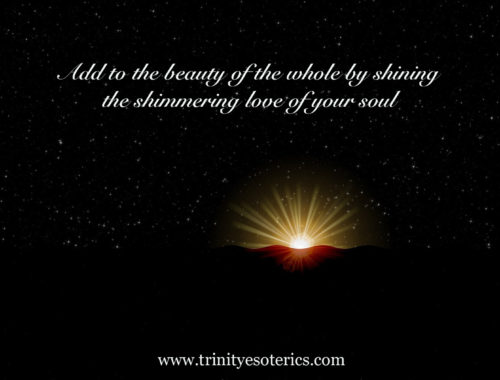 shining light trinity esoterics