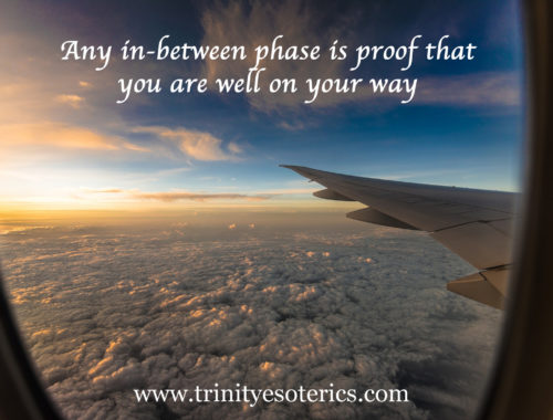 view from airplane window trinity esoterics