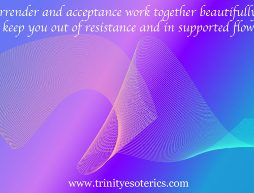 ribbons of light trinity esoterics