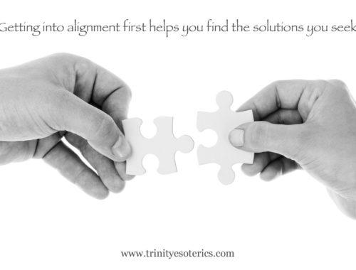 hands lining up puzzle piece trinity esoterics