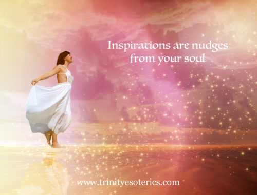 uplifted woman surrounded by light trinity esoterics