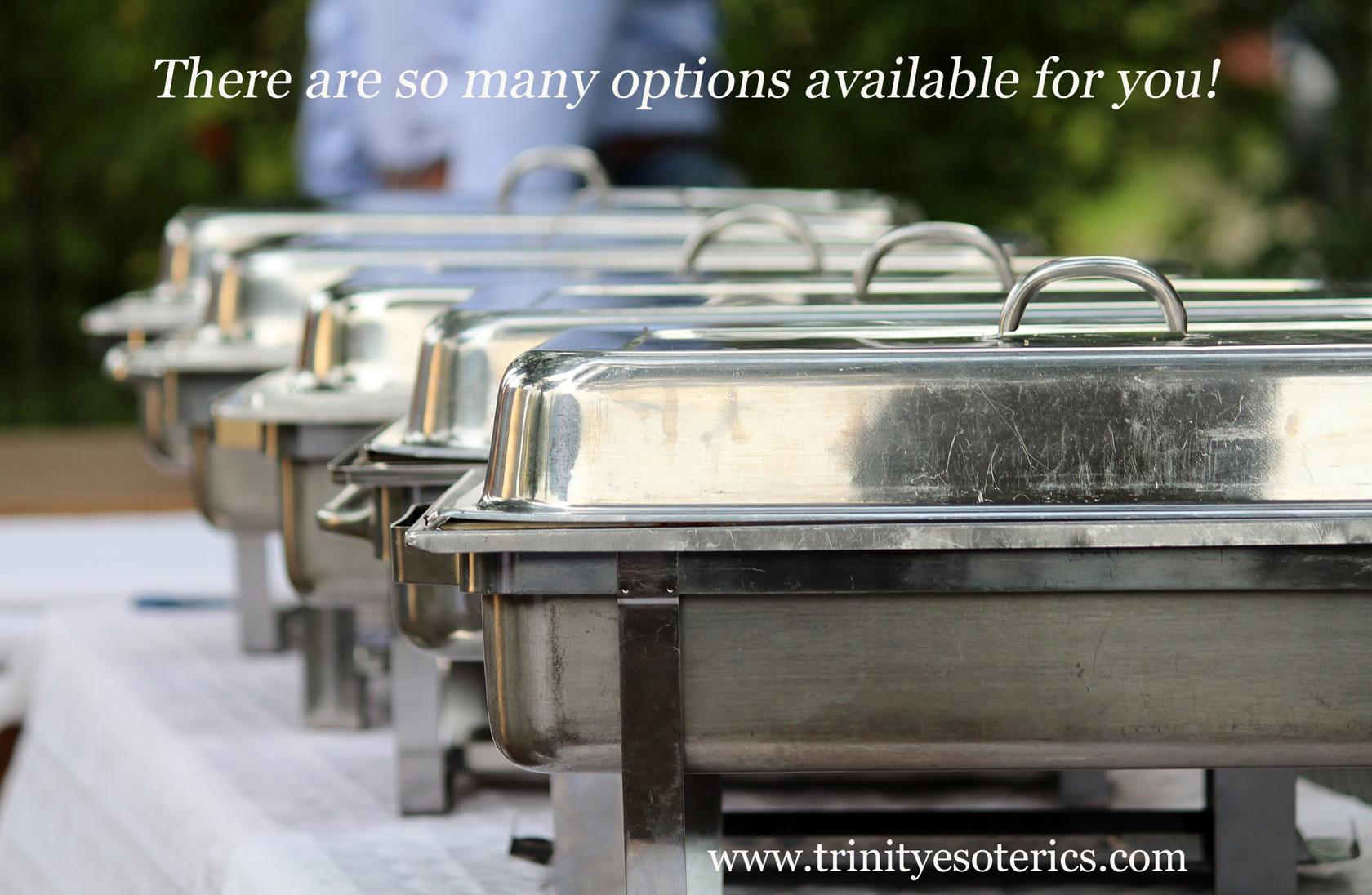 buffet dishes trinity esoterics
