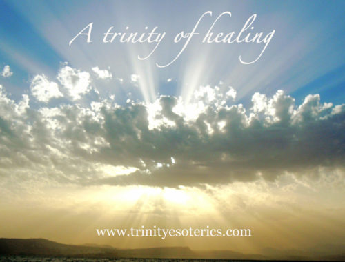 heavenly clouds light trinity esoterics