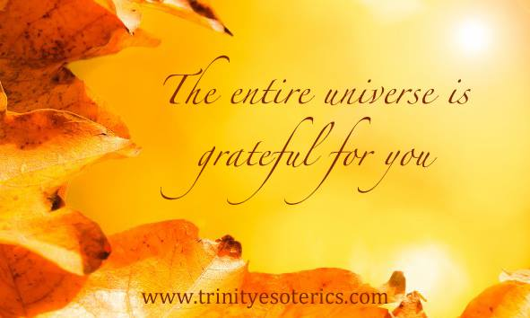 golden leaves gratitude trinity esoterics