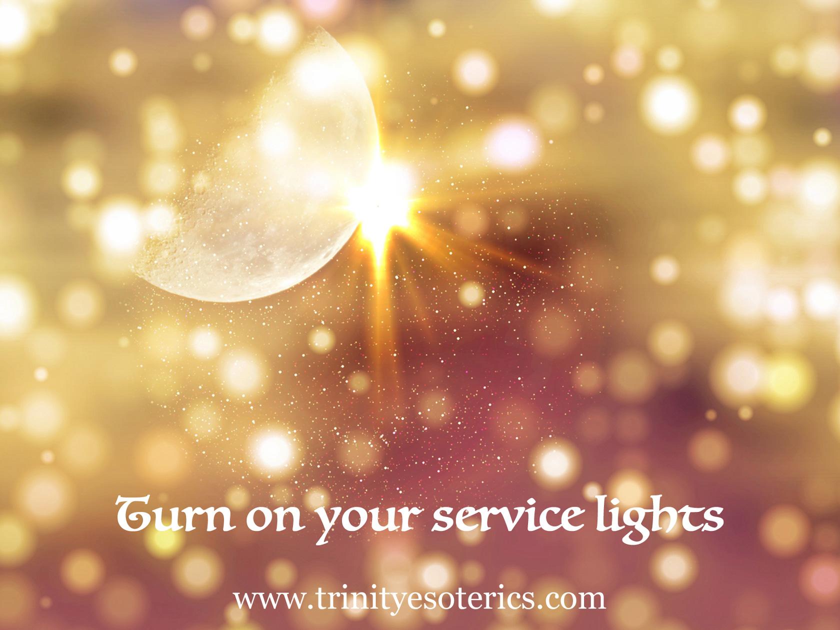 shining light beam trinity esoterics