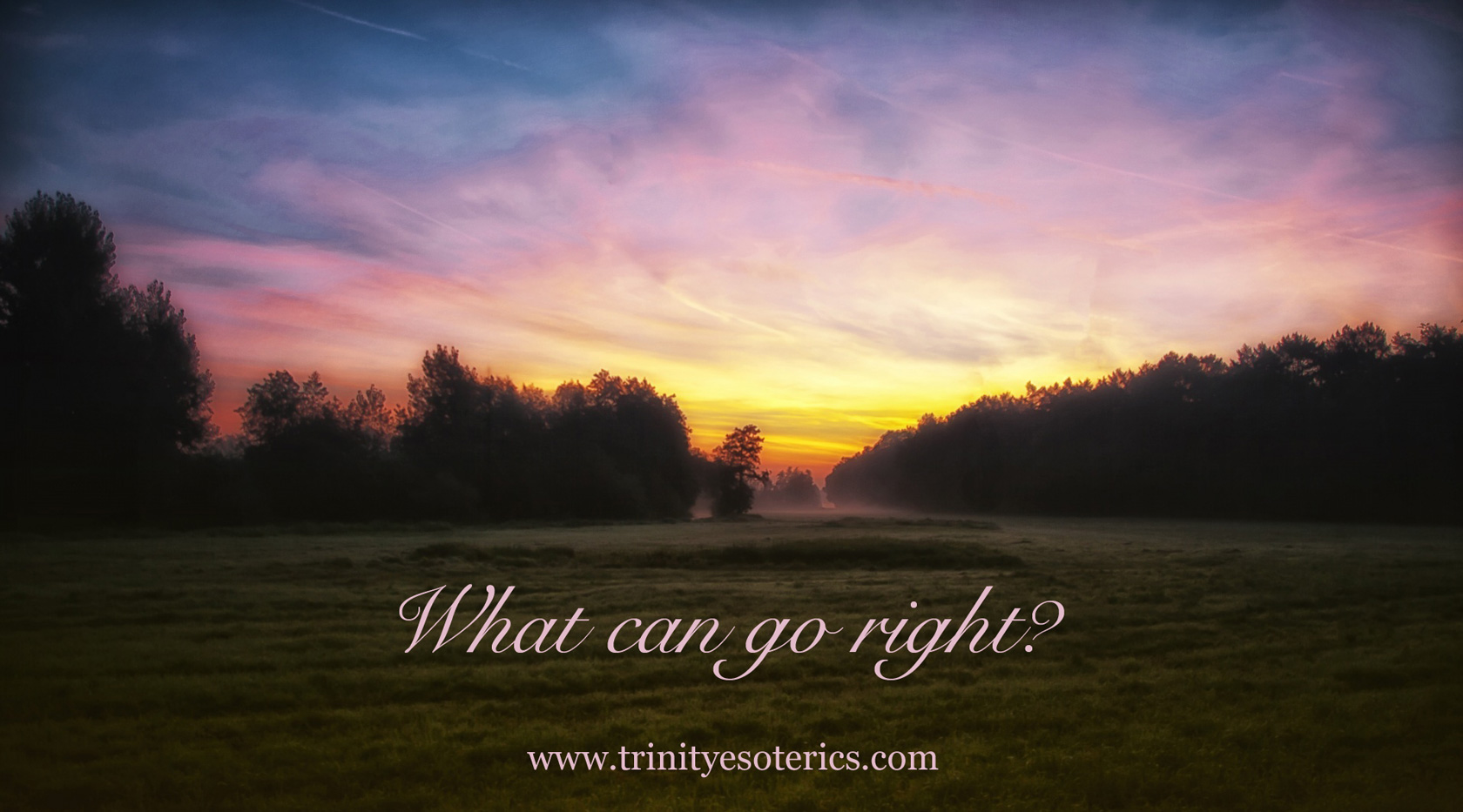 pink sky dawn trinity esoterics