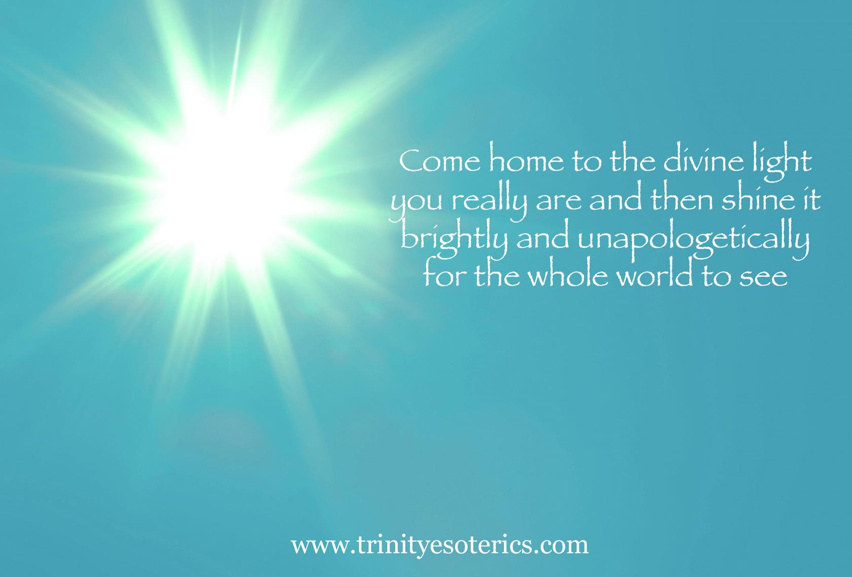 bright light trinity esoterics