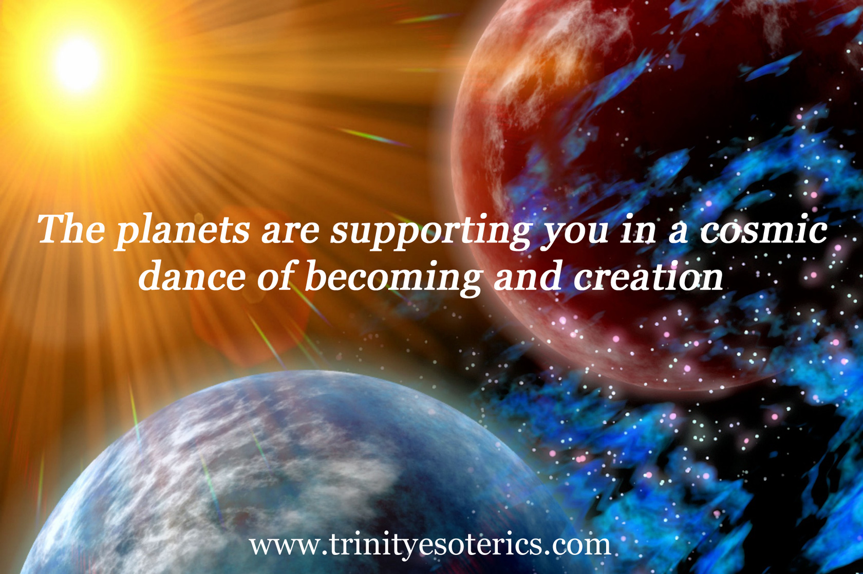 planets light trinity esoterics