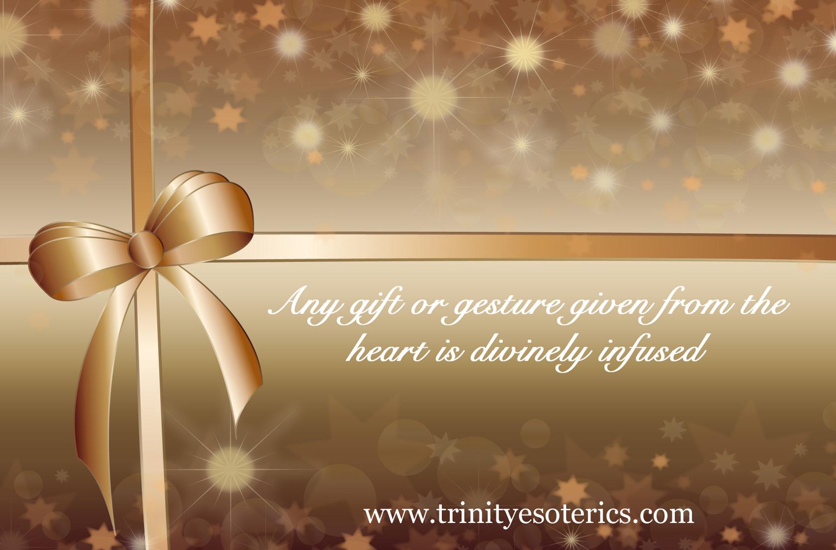 golden present trinity esoterics