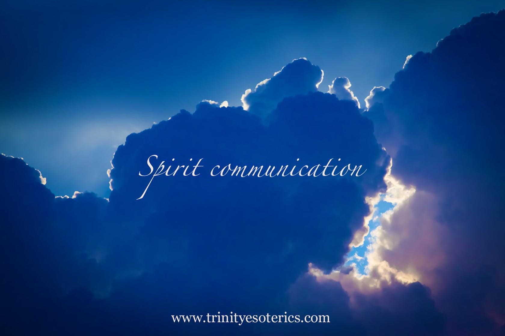 clouds light trinity esoterics