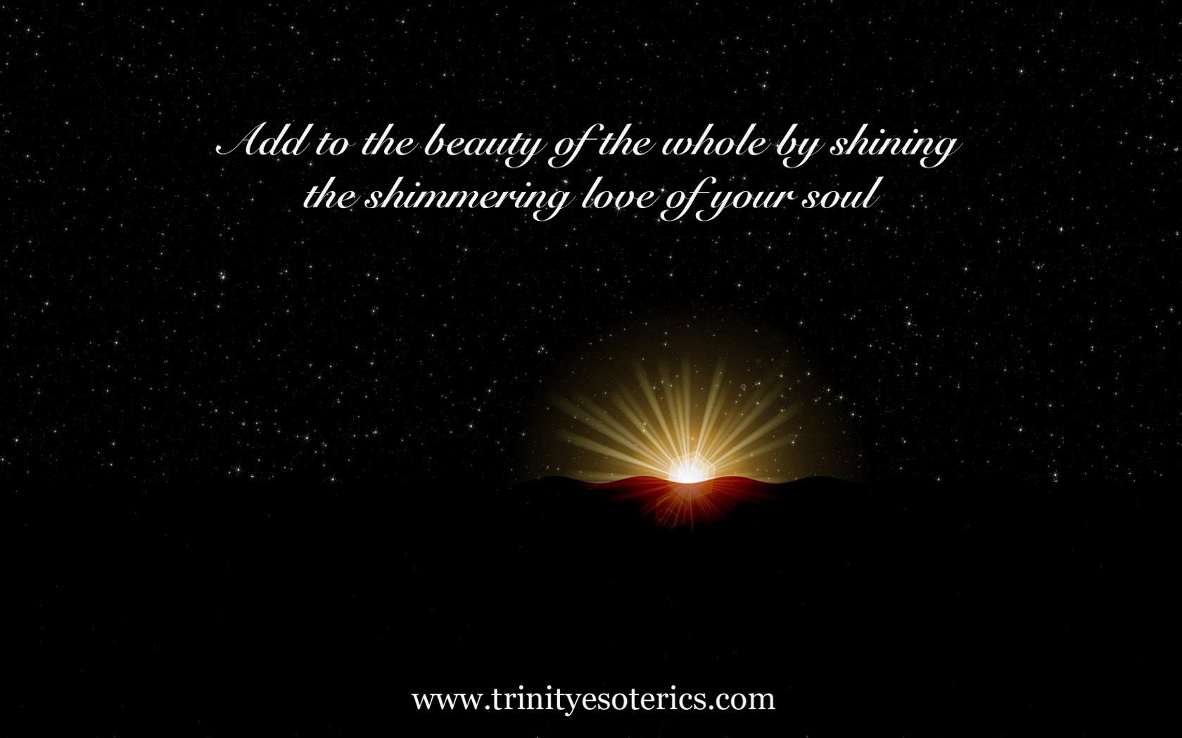 shining light trinity esoterics