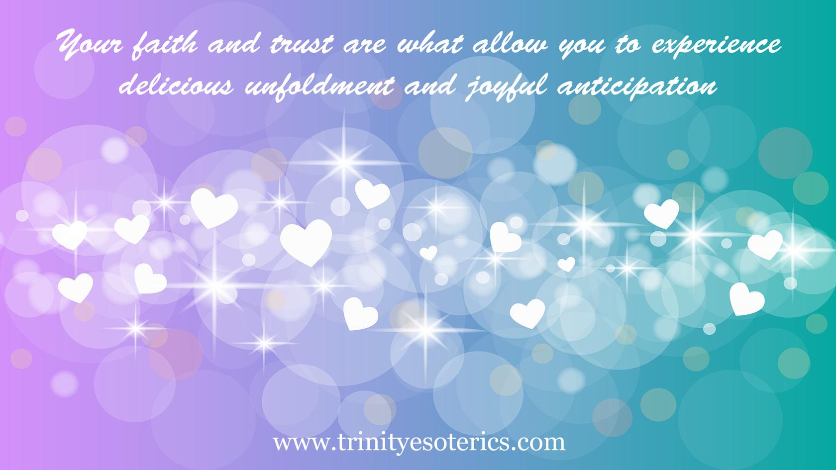 sparkles hearts bubbles trinity esoterics