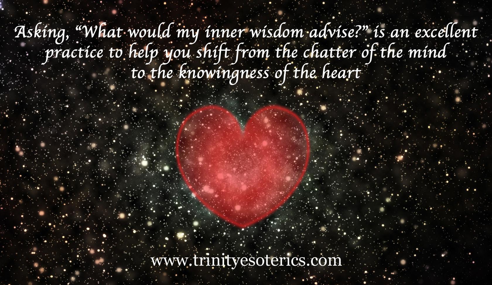 heart in space trinity esoterics