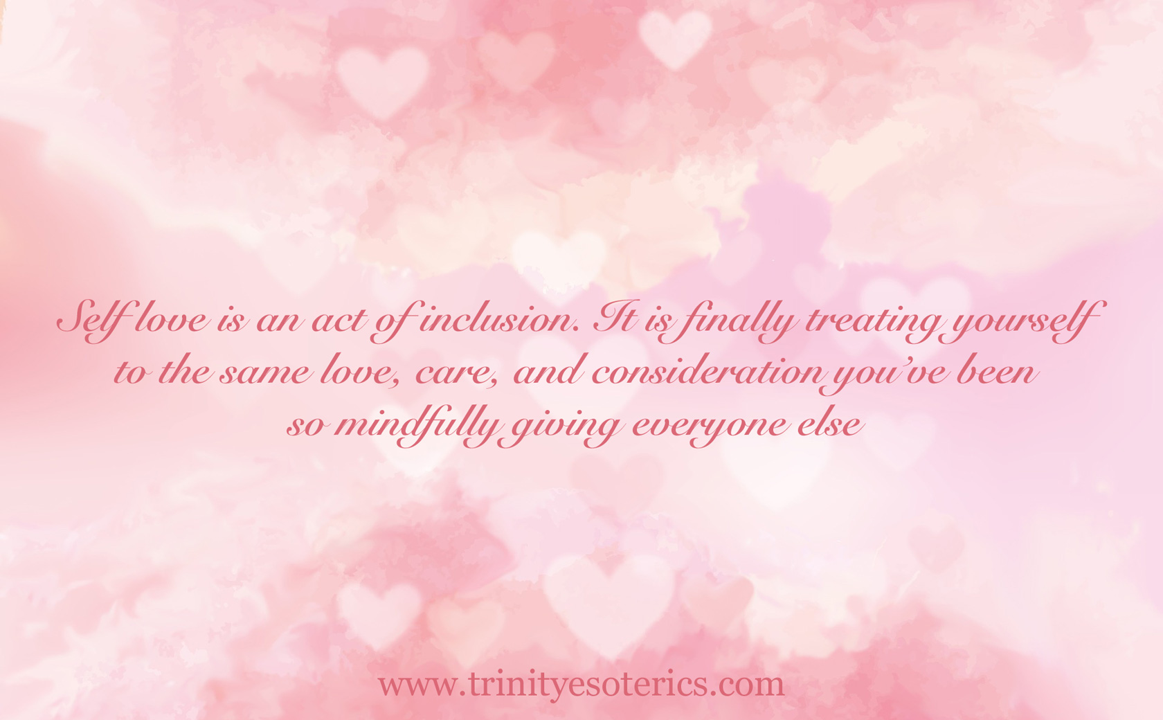 pink heart background trinity esoterics