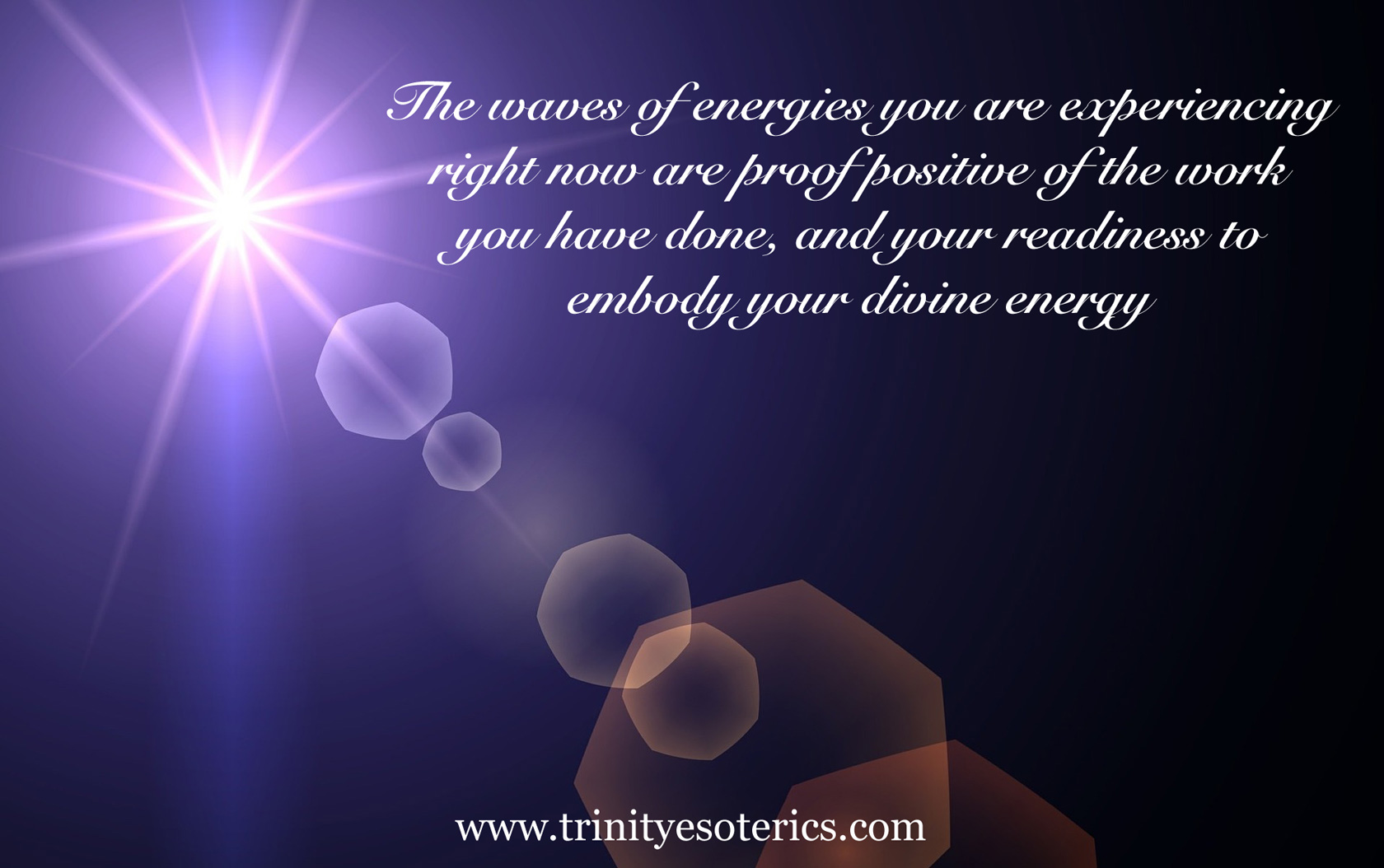 energy download trinity esoterics