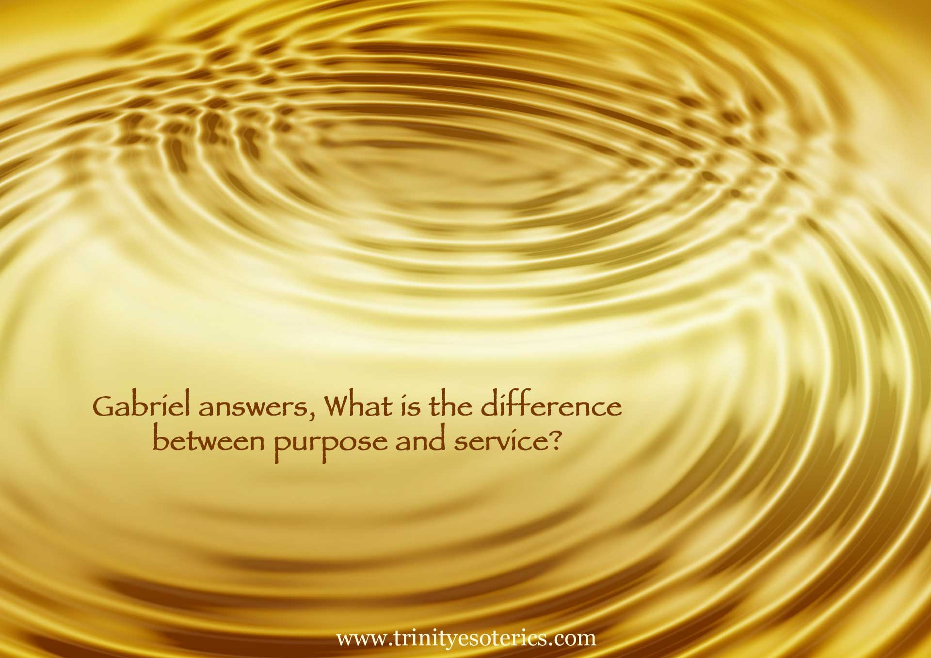 golden ripples trinity esoterics