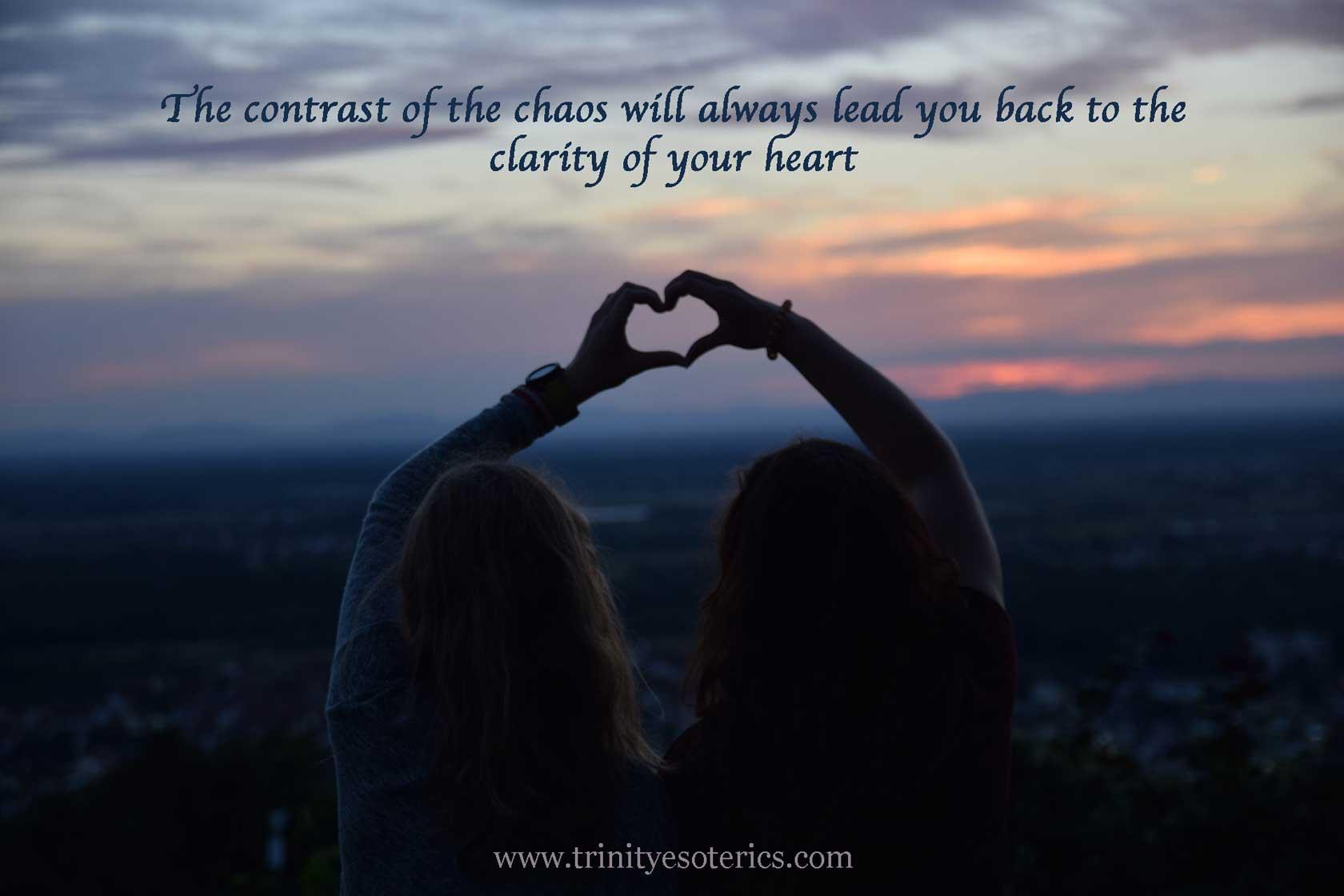 friends hands creating heart trinity esoterics