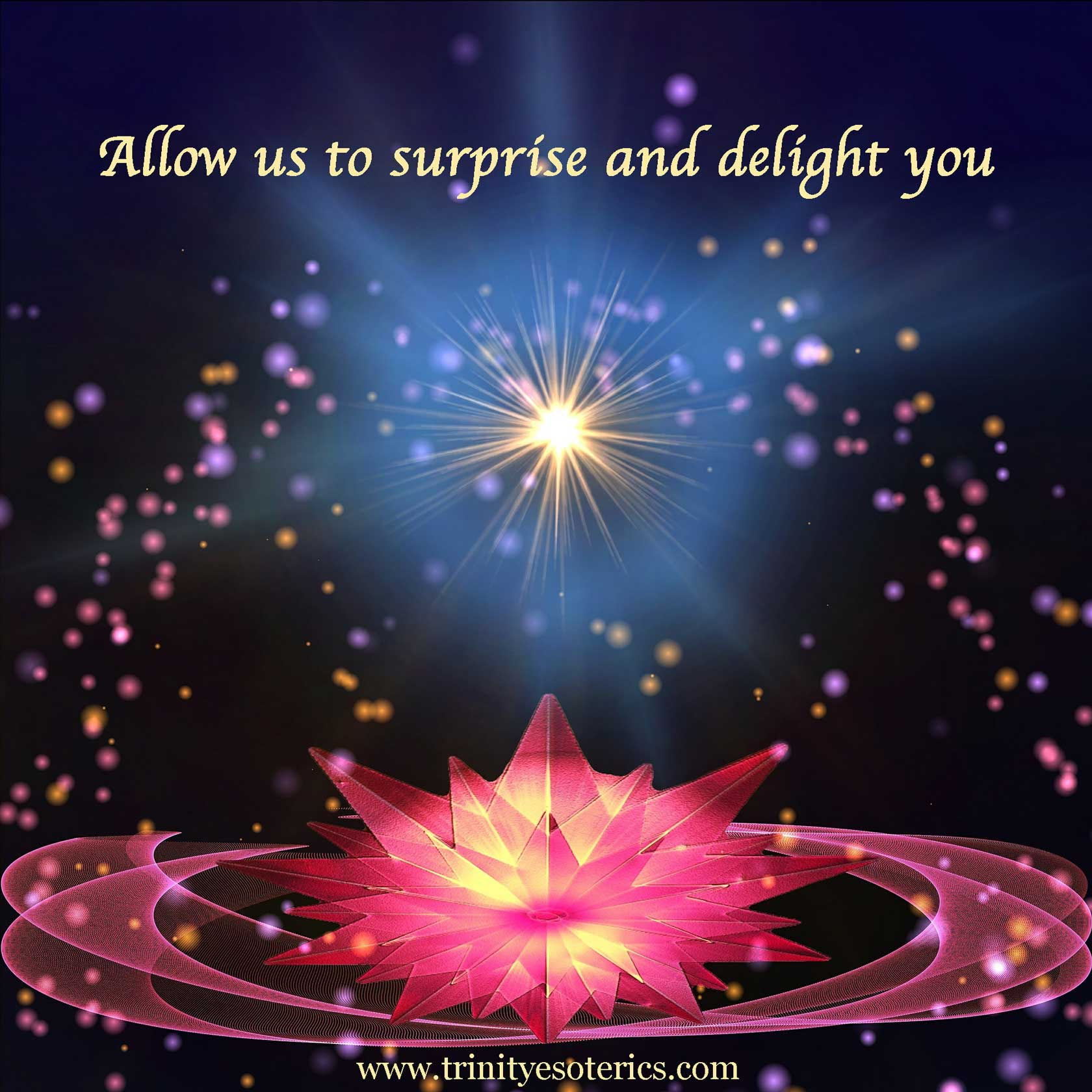 brilliant star over lotus trinity esoterics