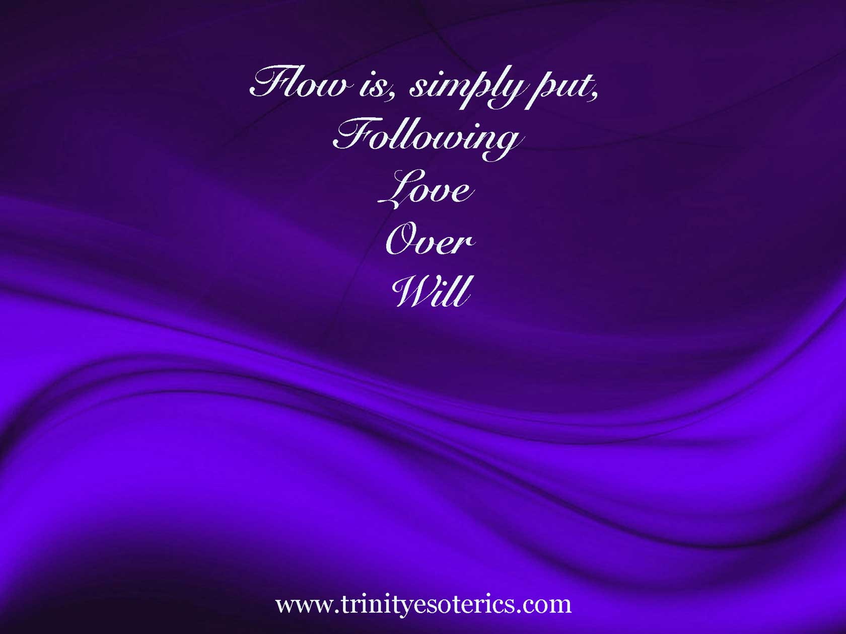 purple waves trinity esoterics