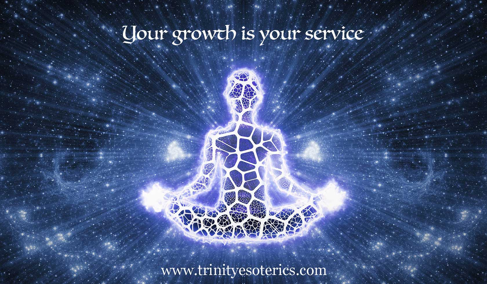 lighted meditator trinity esoterics