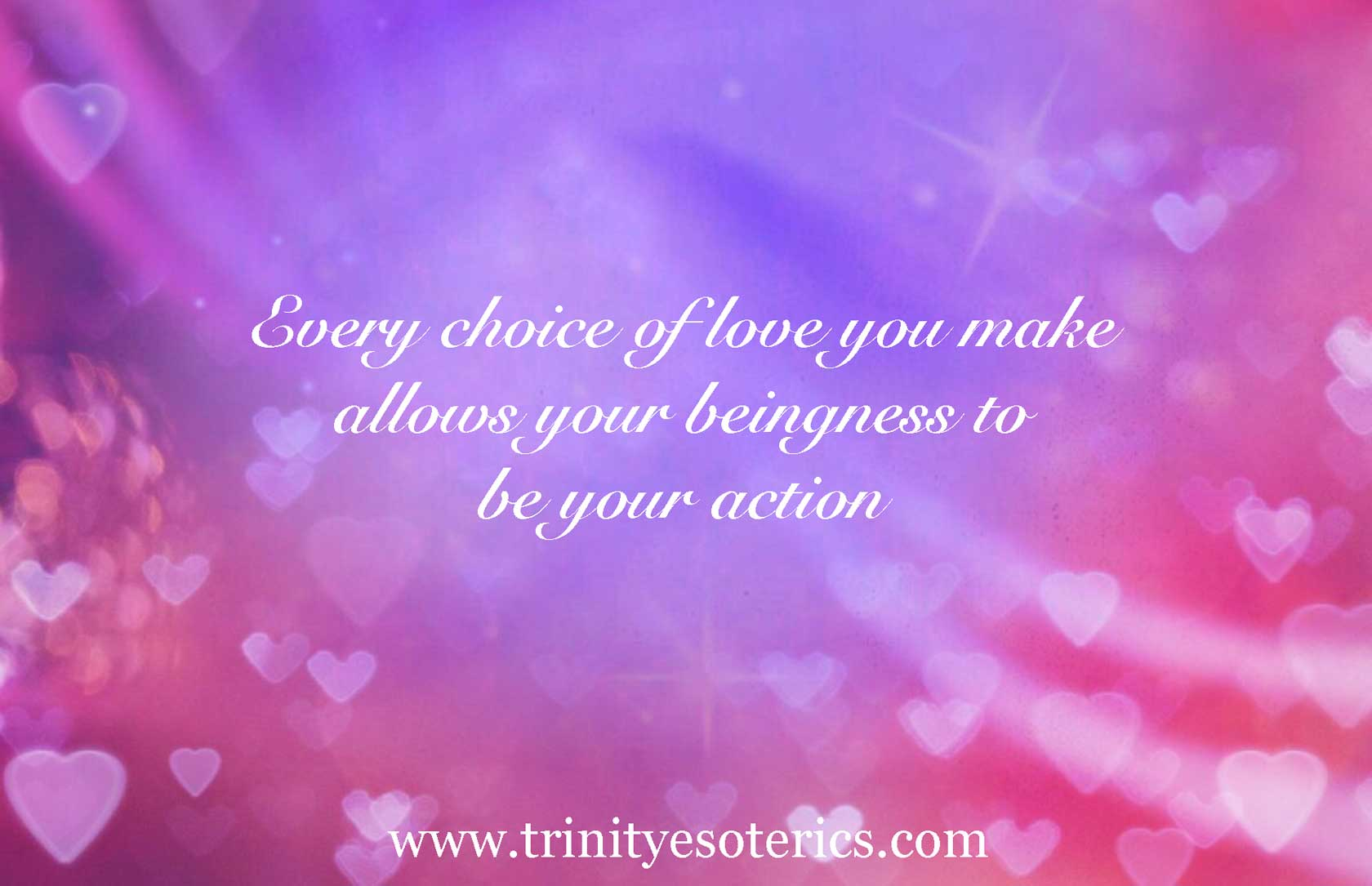 flow of hearts trinity esoterics