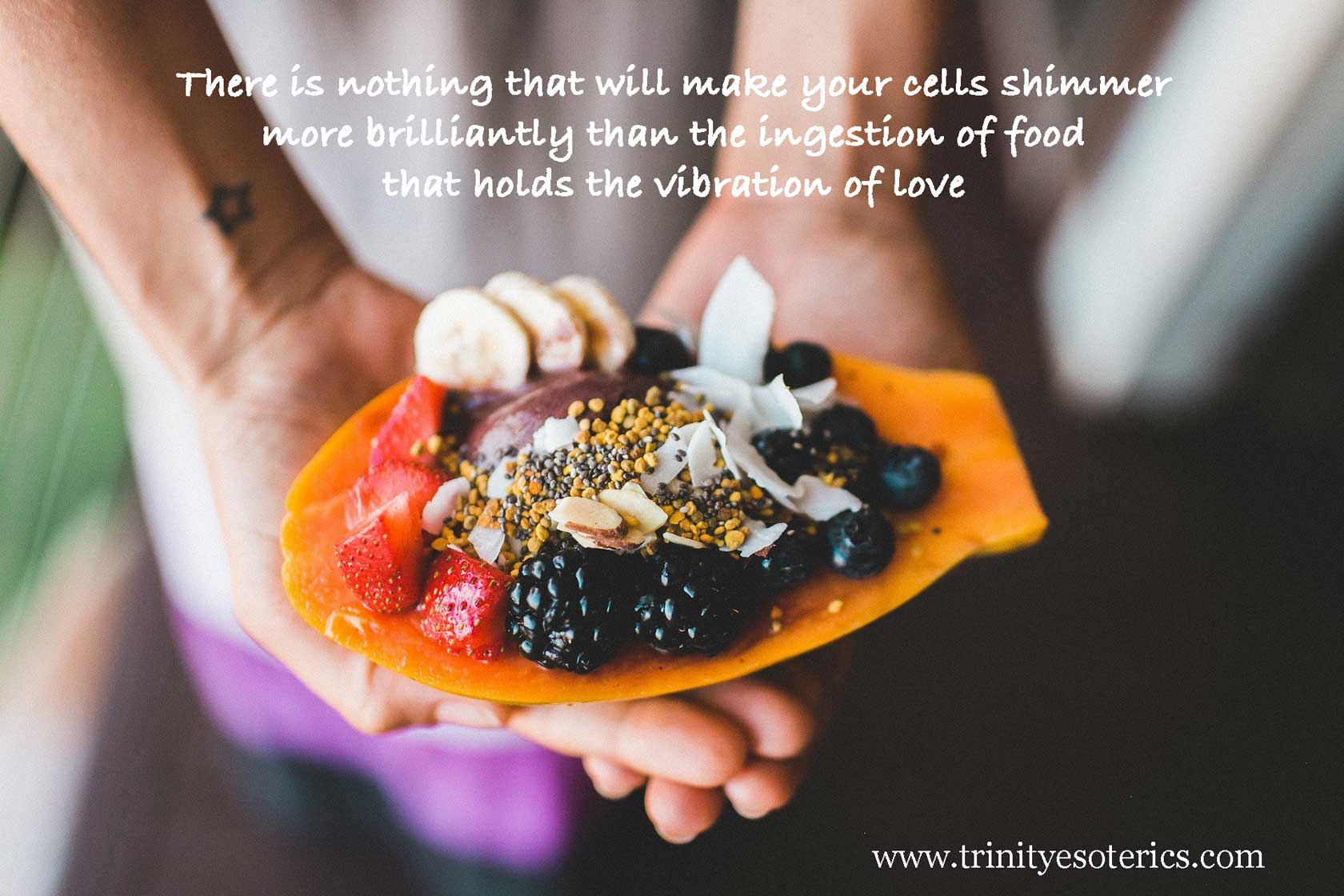 loving food offering trinity esoterics