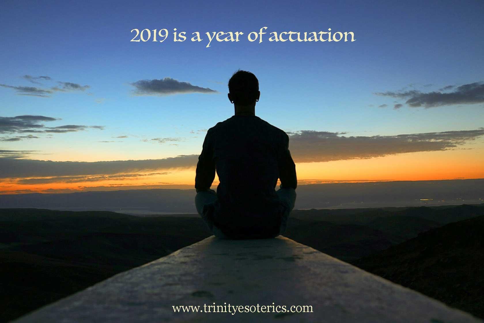 meditative person trinity esoterics