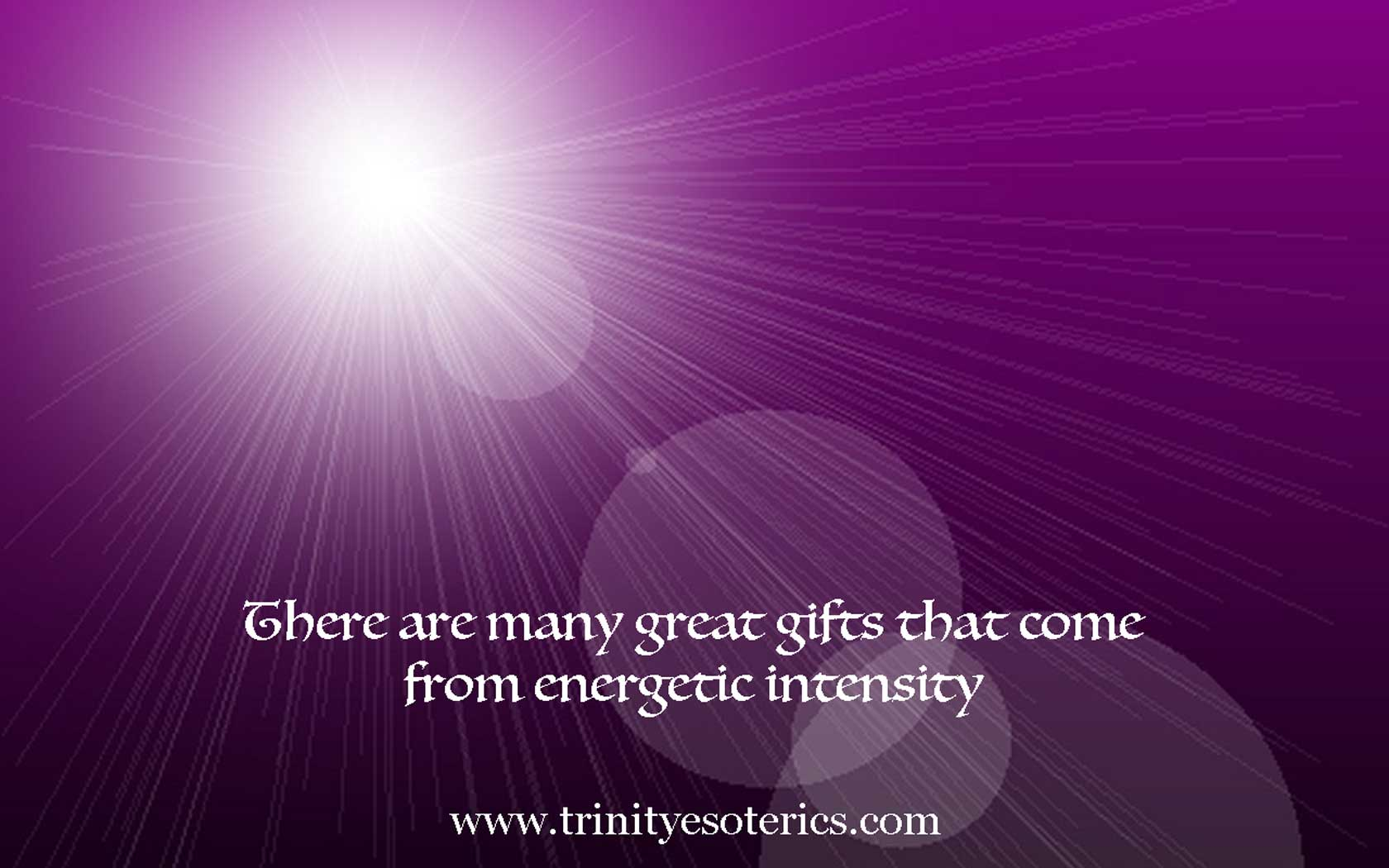 energy burst trinity esoterics