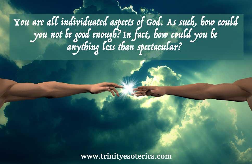 hand of god trinity esoterics
