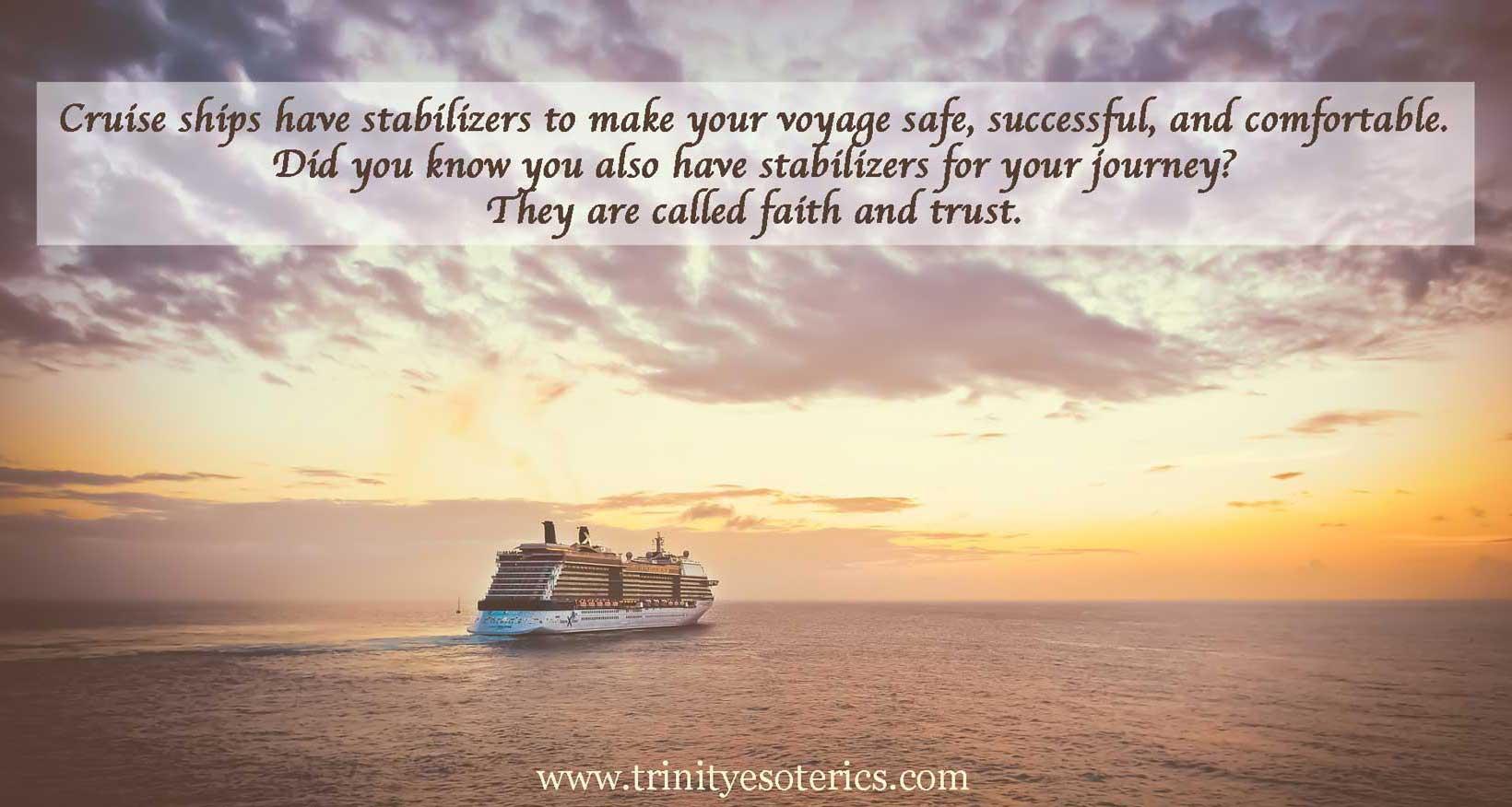 cruise ship trinity esoterics