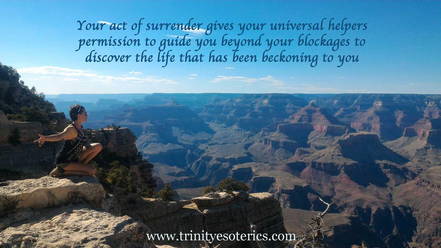 woman at top of grand canyon trinity esoterics