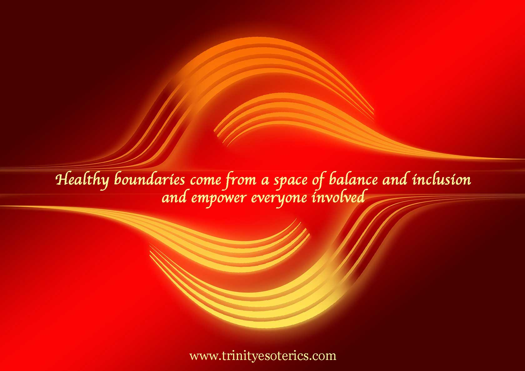 balanced waves trinity esoterics
