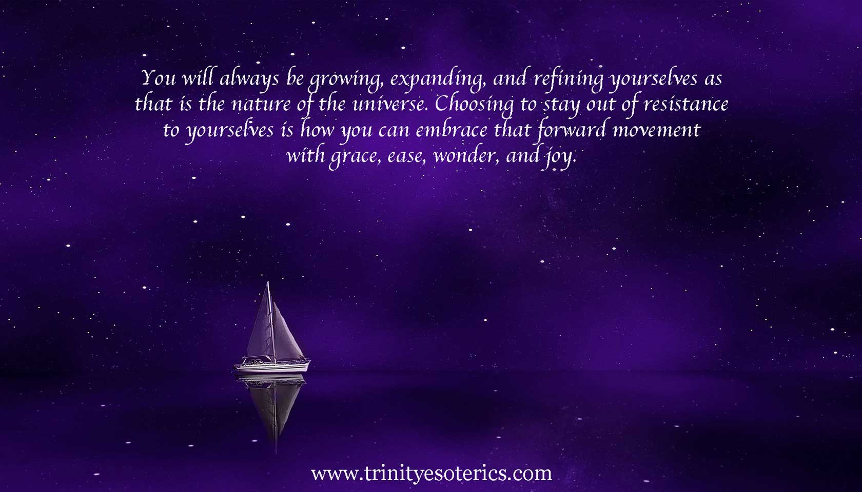sailboat in cosmos trinity esoterics