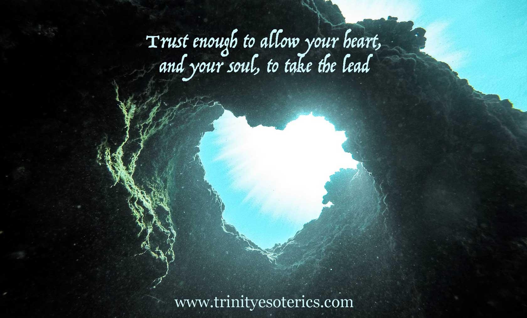 heart opening under sea trinity esoterics