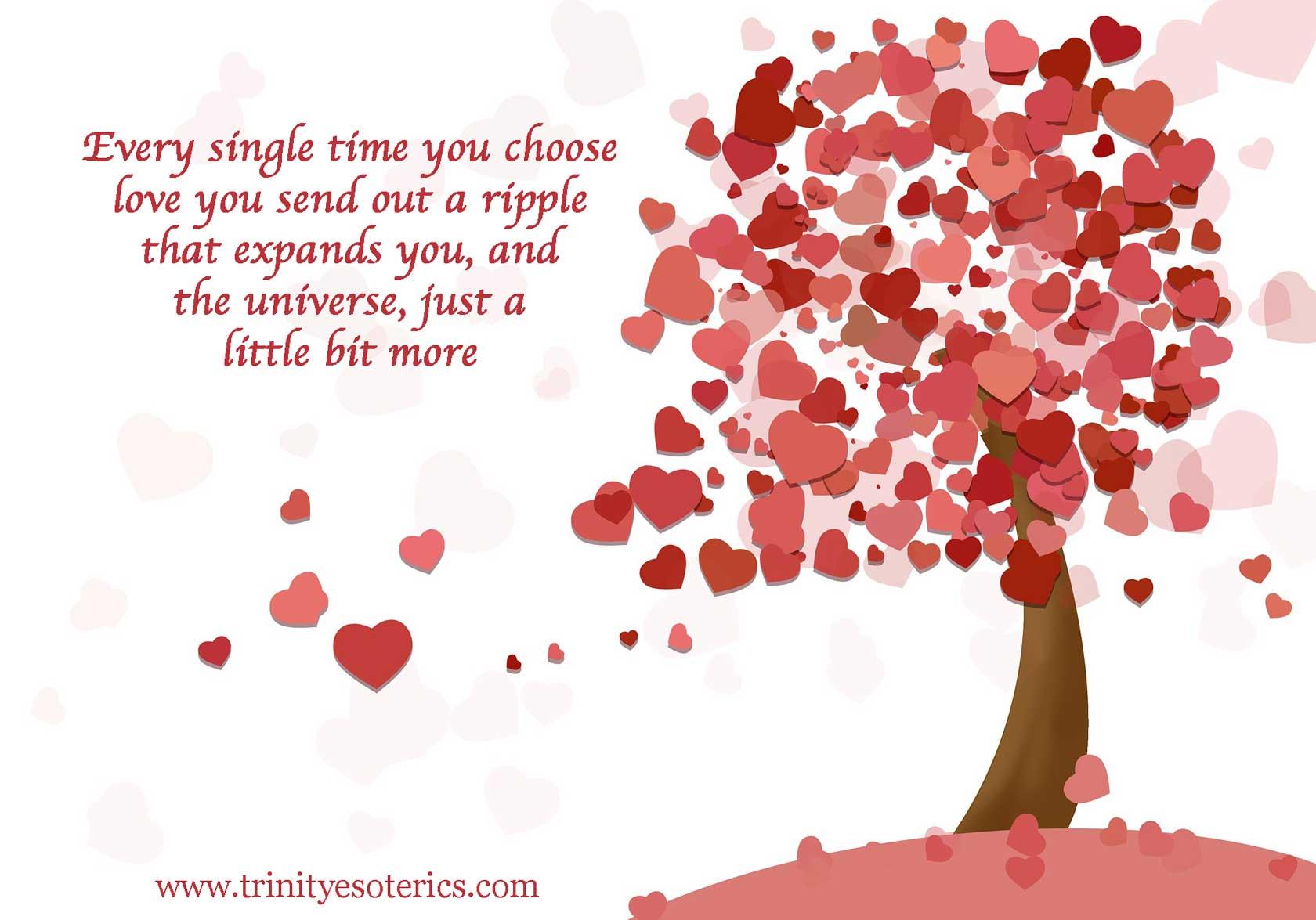 heart tree trinity esoterics