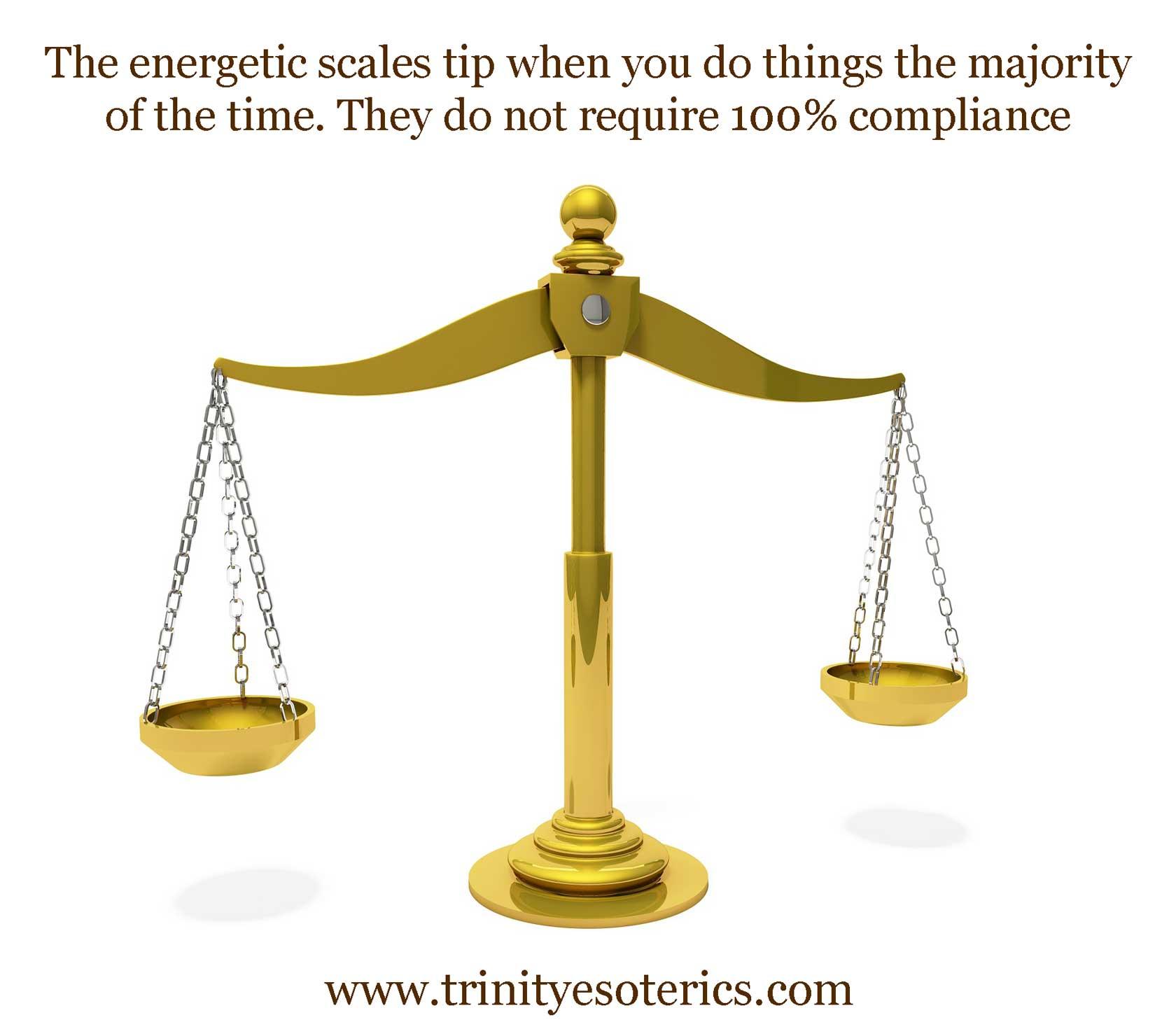 golden scales trinity esoterics