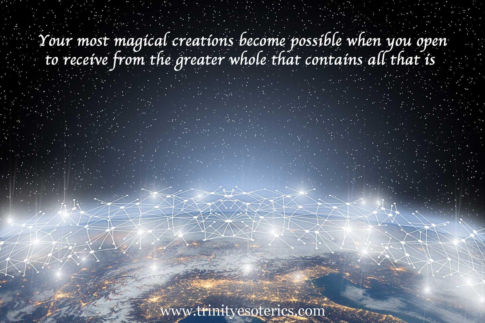 universal network trinity esoterics