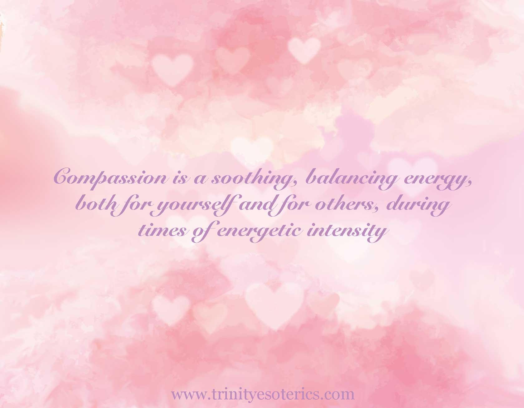 pink background trinity esoterics