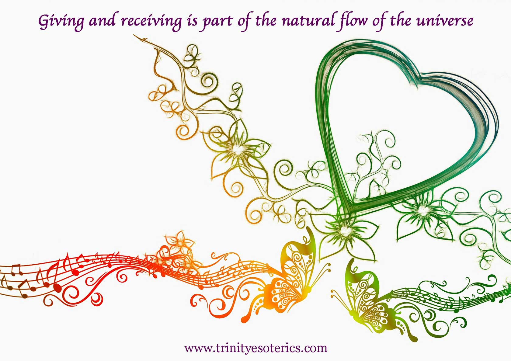 heart flow trinity esoterics