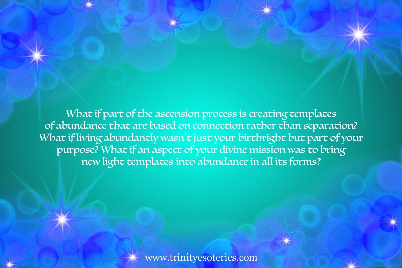 light background trinity esoterics