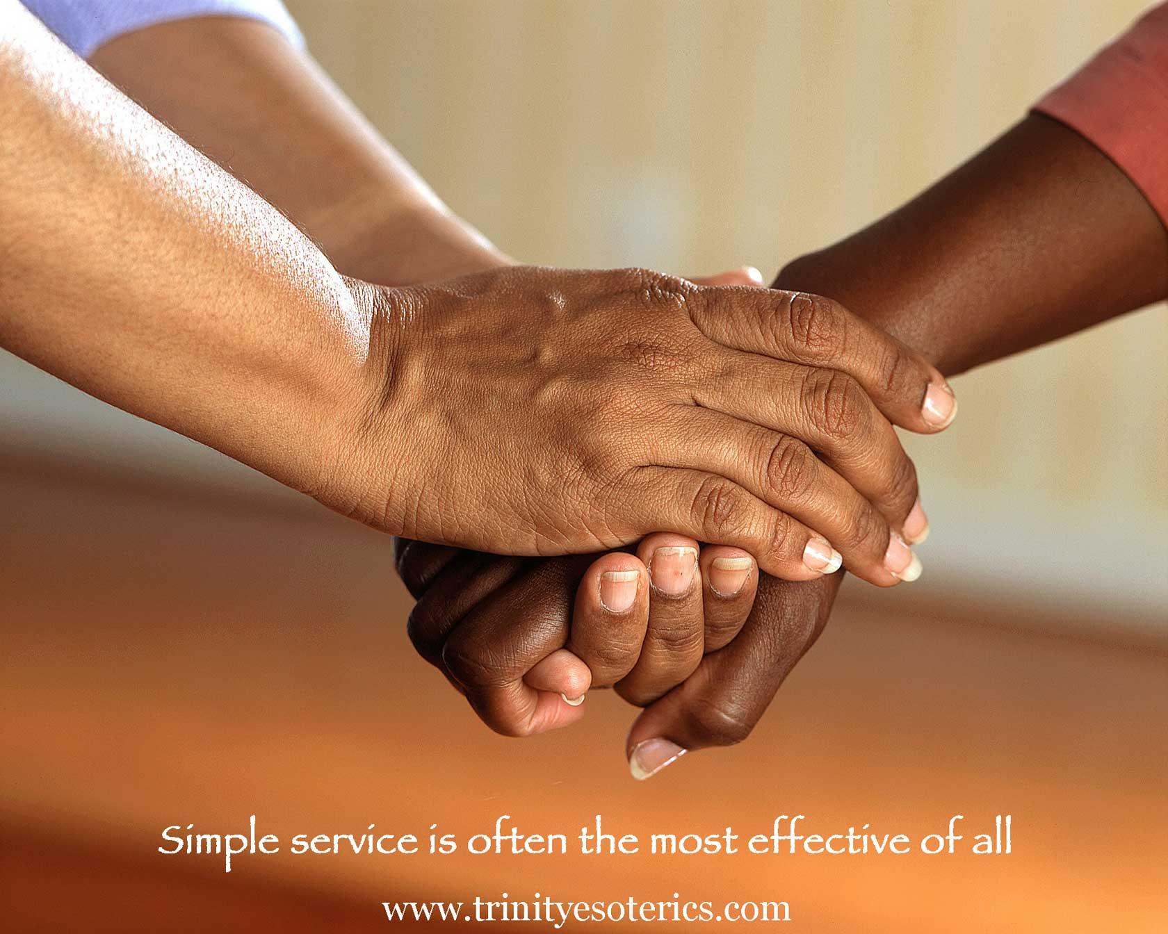 caring hands trinity esoterics