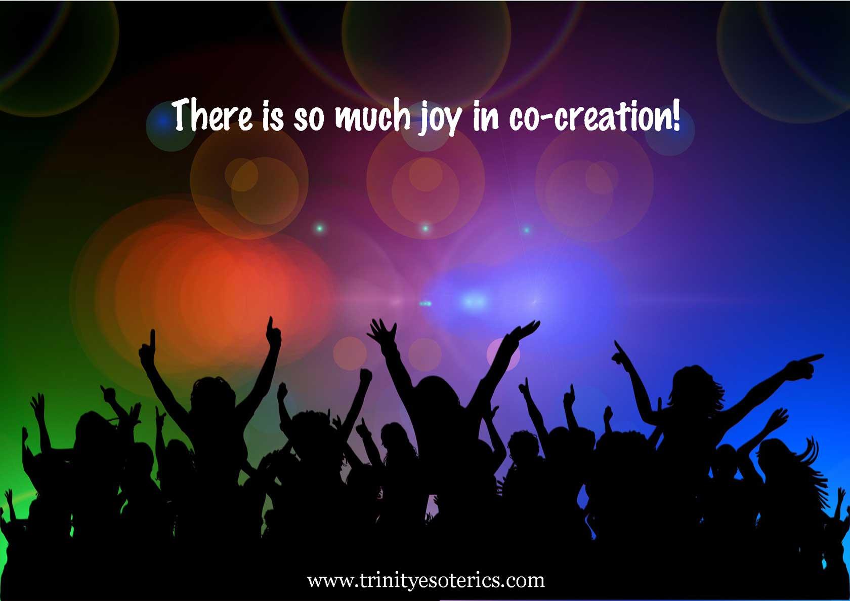 joyful crowd trinity esoterics