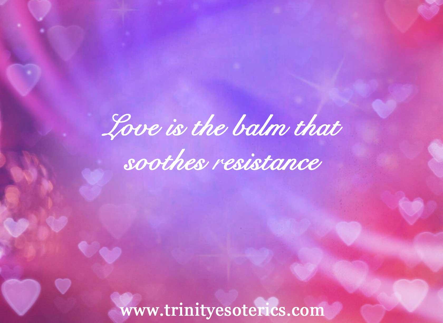 love flow trinity esoterics